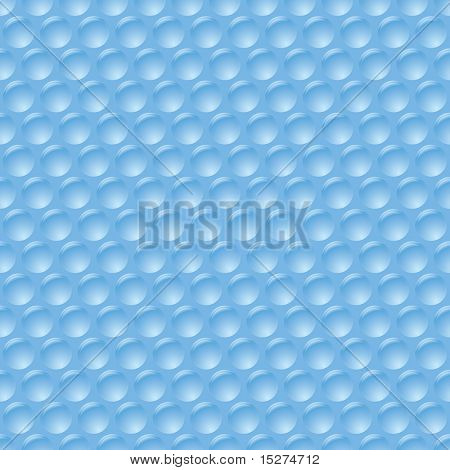 illustrated bubble wrap with unpopped plastic protection sheet