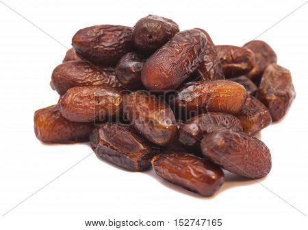 Fruit Dates isolated on a white background