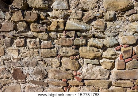 old stone wall. background, gray material texture