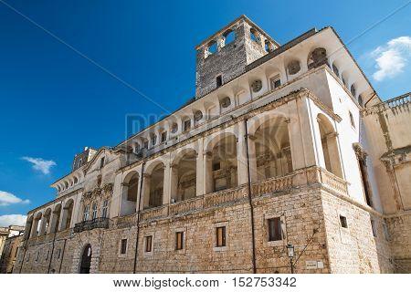 De Mari Palace. Acquaviva delle fonti. Puglia. Italy.