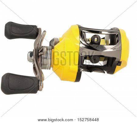 Yellow Multiplier Fishing Reel