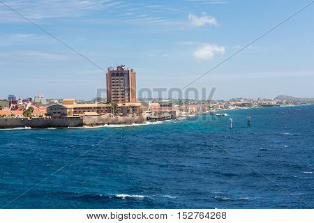 A Resort on Curacao point of land
