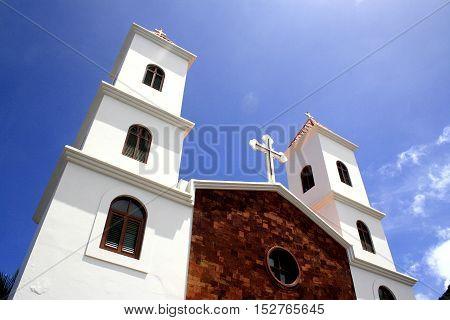 Catholic Monastery of Mosteiros, Cabo Verde, África