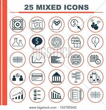 Set Of 25 Universal Editable Icons For Project Management, Hr And Human Resources Topics. Includes I