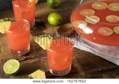 Homemade Jamaican Rum Punch