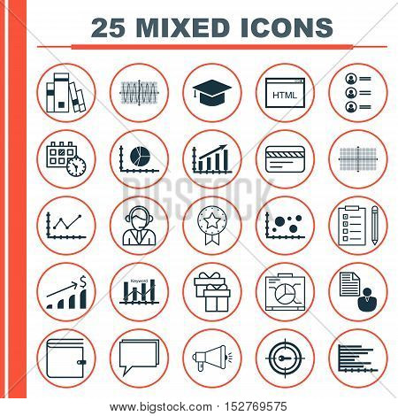 Set Of 25 Universal Editable Icons For Travel, Human Resources And Tourism Topics. Includes Icons Su