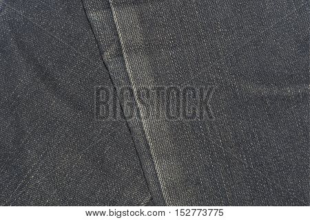 Closeup jeans texture for the traditional business background