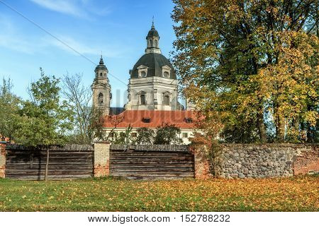 Monastery  In Lithuania