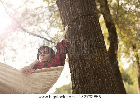 Relax in the woods