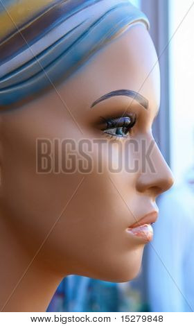 Beautiful face. Please note this is a mannequin!