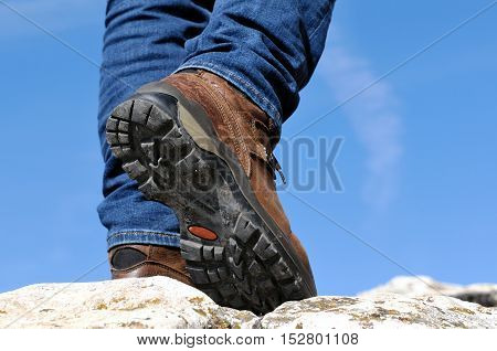 Walking In The Mountains