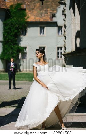 Young Sexy Woman Bride