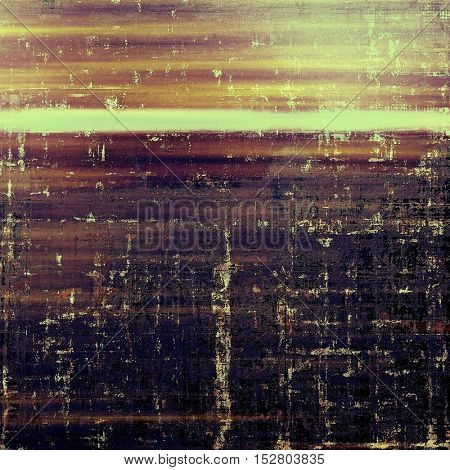 Glamour vintage frame, decorative grunge background. Aged texture with different color patterns: yellow (beige); brown; gray; purple (violet); black; pink