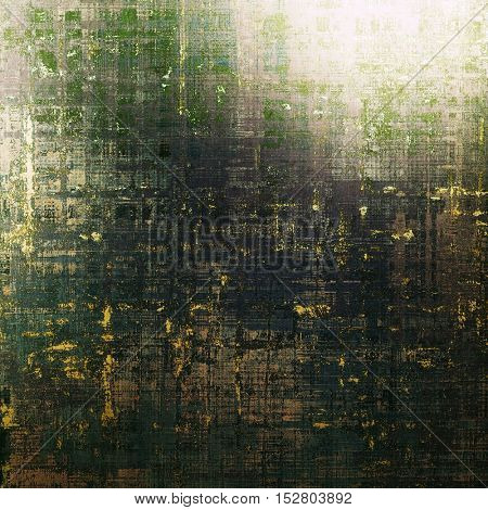 Ancient textured background or shabby backdrop. With different color patterns: yellow (beige); brown; gray; green; black; cyan