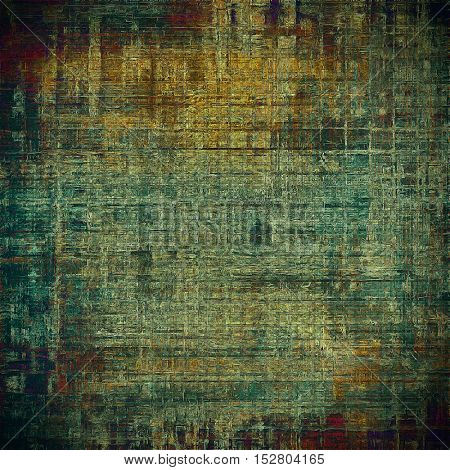 Art vintage texture, decorative grungy background. With different color patterns: yellow (beige); brown; gray; green; blue; red (orange)