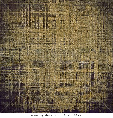 Nice looking grunge texture or abstract background. With different color patterns: yellow (beige); brown; gray; black