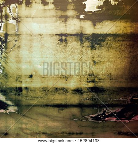 Nice looking grunge texture or abstract background. With different color patterns: yellow (beige); brown; gray; green; black; pink