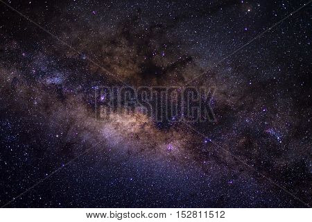 The Milky Way Captured From The Southern Hemisphere, With Details Of Its Colorful Core, Outstandingl