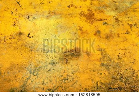 Wall Yellow color texture background - in India