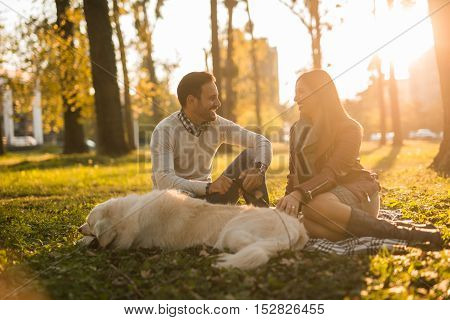 Spending Time With Dog