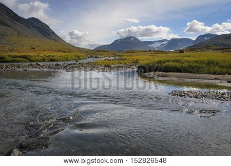 Land of rivers, mountains and glaciers, Sarek Sweden