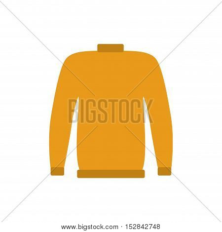 industrial security yellow shirt protection equipment over white background. vector illustration