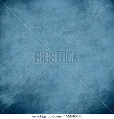 Blue abstract grunge background. vintage wall texture