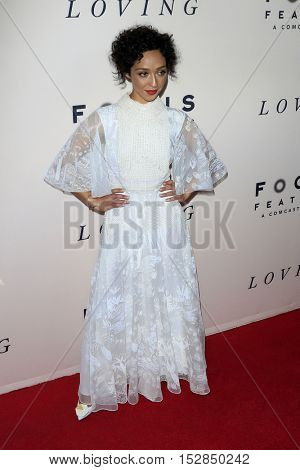 LOS ANGELES - OCT 20:  Ruth Negga at the