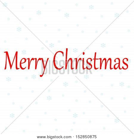 Christmas background with Christmas snowflake. Festive abstract background