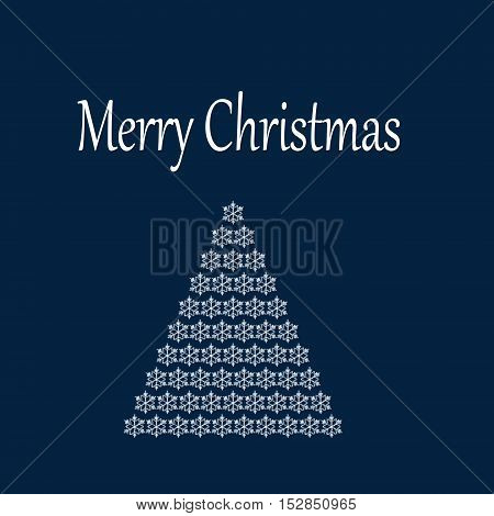 Christmas background with Christmas tree. Festive abstract background