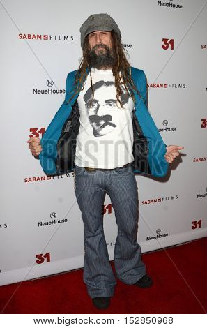 LOS ANGELES - OCT 20:  Rob Zombie at the Special Screening of