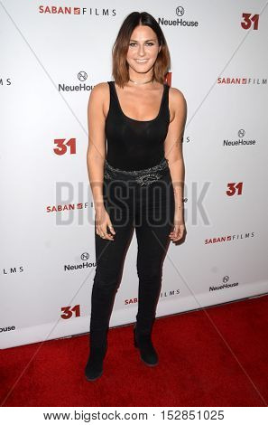 LOS ANGELES - OCT 20:  Scout Taylor-Compton at the Special Screening of