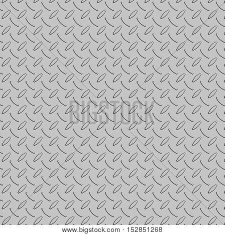 Metal diamond plate abstract background for design