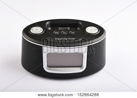 music box and radio, it has also mobile socket