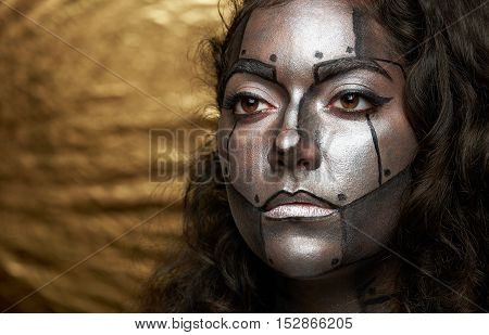 Cyborg Women Face