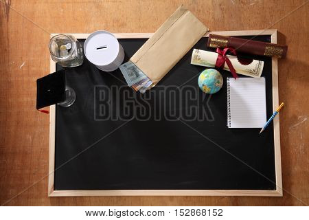 saving for the education concept