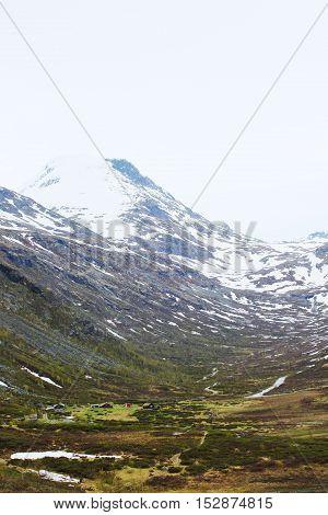 Spring Norway Mountains