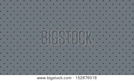 illustration of grey color background with round holes