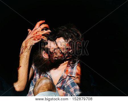 Scary Zombie Man