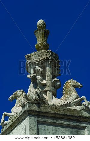 Decoration Elements At Roof Of Basilica San Marco In Venice, Italy