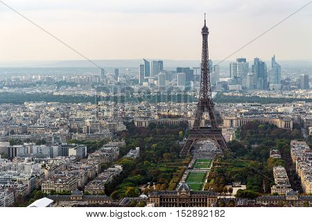 Paris Skyline Panorama