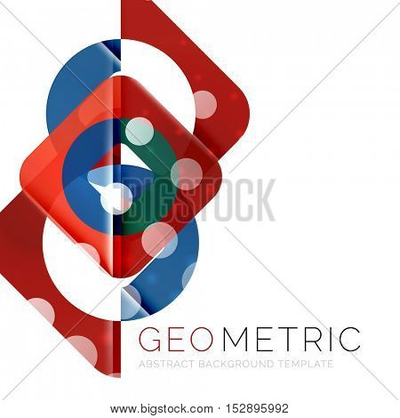 Vector abstract background modern template