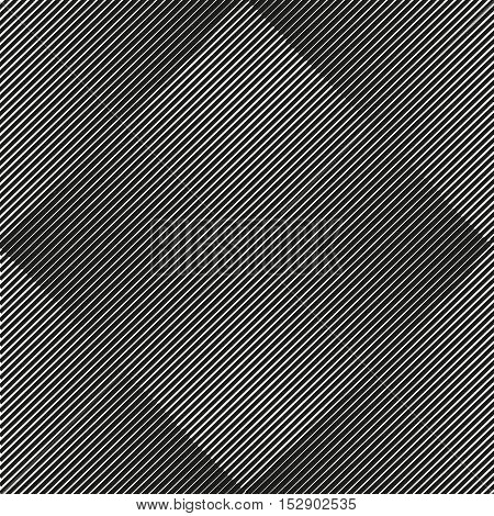 Vector Abstract Geometric Seamless Pattern Of Rhombuses.
