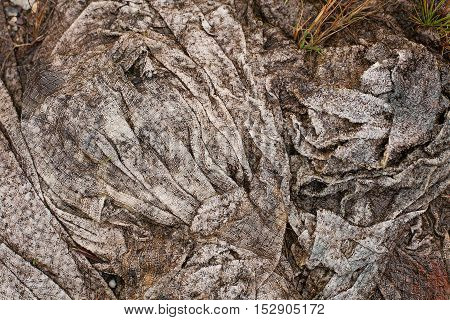 Muddy Textured Cloth On The Ground