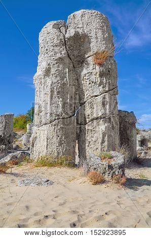 The Stone Desert (Pobiti Kamani) - Fabulous Rock Phenomenon in Varna Province Bulgaria