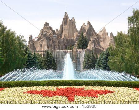 Canada's Wonderland Amusement Park Entrance