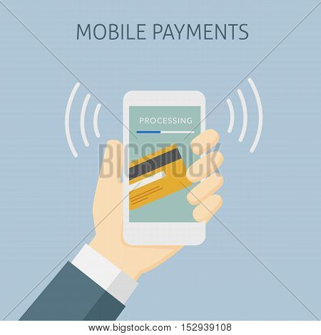 Contactless Payment with Mobile Phone, Mobile Payment Processing