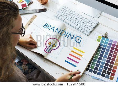 Branding Innovation Creative Inspire Concept