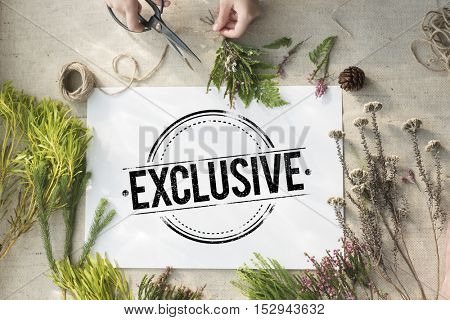 Business Exclusive Creative Guaranteed Concept