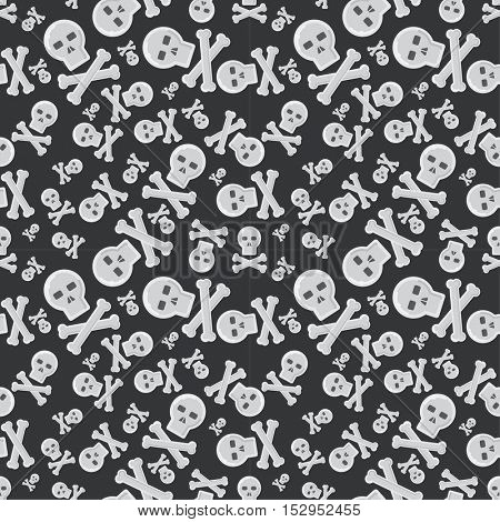 Ghost vector characters pattern